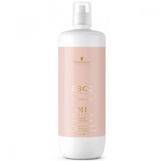 Shampoo Schwarzkopf Professional BC Bonacure Oil Miracle Rose -  1L