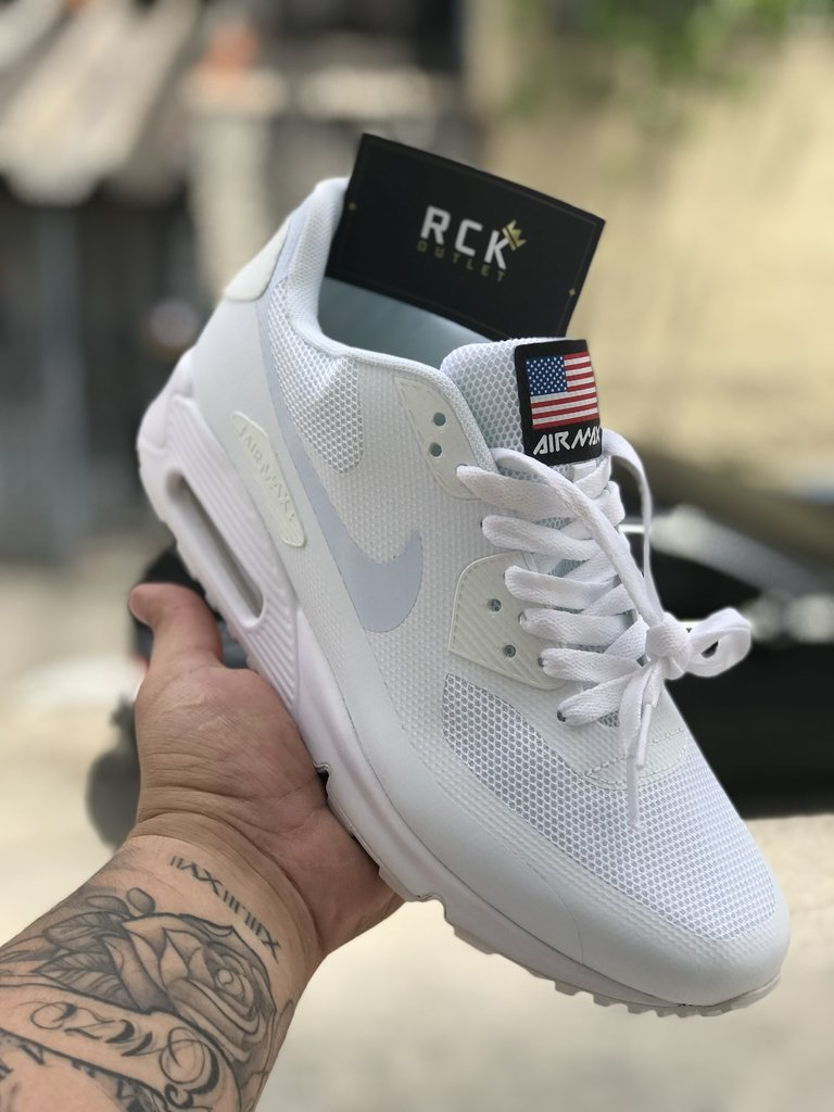 photos officielles f66b4 0ce41 NIKE AIR MAX 90 Independence Day Branco