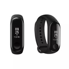Relógio Xiaomi Mi Band 3 Smart Watch para Android iOS - Preto