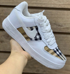 NIKE AIR FORCE COLAB BURBERRY