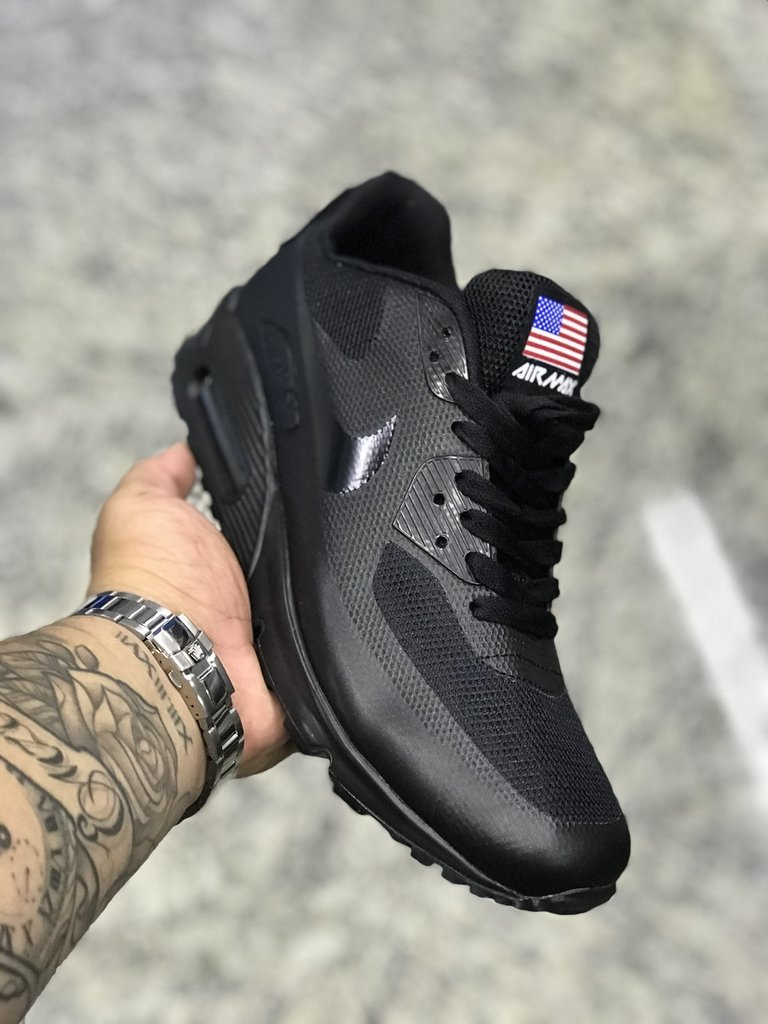 3a0ad1598dd NIKE AIR MAX 90 Independence Day Preto - Rck Outlet