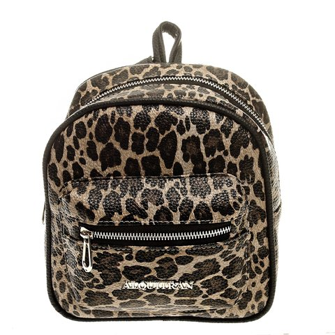 ART 817 Mochila Mini Animal Print