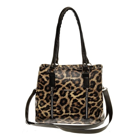 ART 833 Cartera Con 2 Divisiones Animal Print
