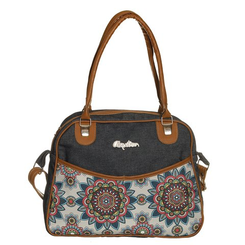 ART 97 Bolso Jeans Estampado