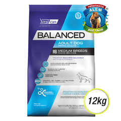 Balanced - Adulto Medium - (12 KG)