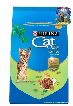 CAT CHOW DEFENSE NATURE GATITIOS X450GR