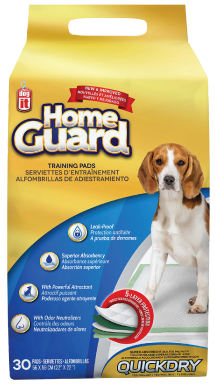 PADS SANITARIOS HOME GUARD X 30 UNIDADES