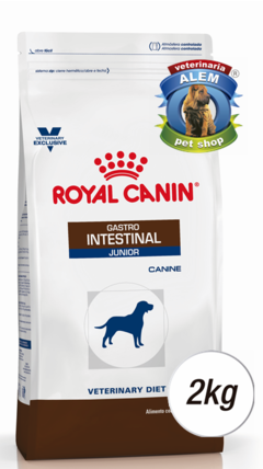 ROYAL CANIN - VET DOG GASTRO INTESTINAL JR - (2 KG)