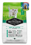 NUTRIQUE BABY CAT AND KITTEN X350GR