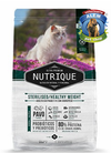 NUTRIQUE YOUNG ADULT CAT STERIL/H WEIGHT X350GR