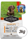 NUTRIQUE TOY & MINI PUPPY X 3 KG