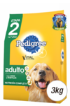 PEDIGREE VEGETALES X3KG