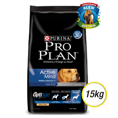 PRO PLAN - DOG ACTIVE MIND +7 (15KG)