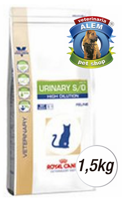 ROYAL CANIN - VET CAT URINARY S/O - (1,5 KG)