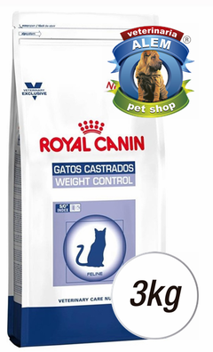 ROYAL CANIN VET CAT WEIGHT CONTROL X 3 KG.
