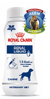 ROYAL CANIN VET DOG RENAL LIQUID X 200 ML. - comprar online