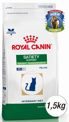 ROYAL CANIN - VET CAT SATIETY - (1,5 KG)