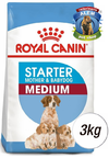 STARTER MEDIUM X 3 KG. ROYAL CANIN