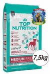 TOP NUTRITION ADULTO RAZA MEDIANA X7.5KG
