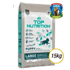 TOP NUTRITION - CACHORRO - RAZA GRANDE - (15 KG)