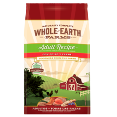 WHOLE EARTH FARMS - ADULTO POLLO Y CARNE - (12 KG)