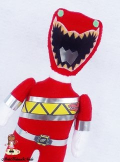 Topo de Bolo Power Rangers  Dino Charge na internet