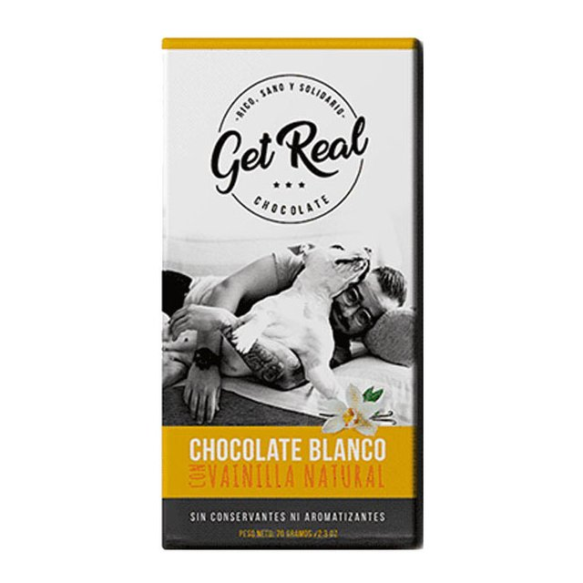2x1 Chocolate con Vainilla Natural Get Real
