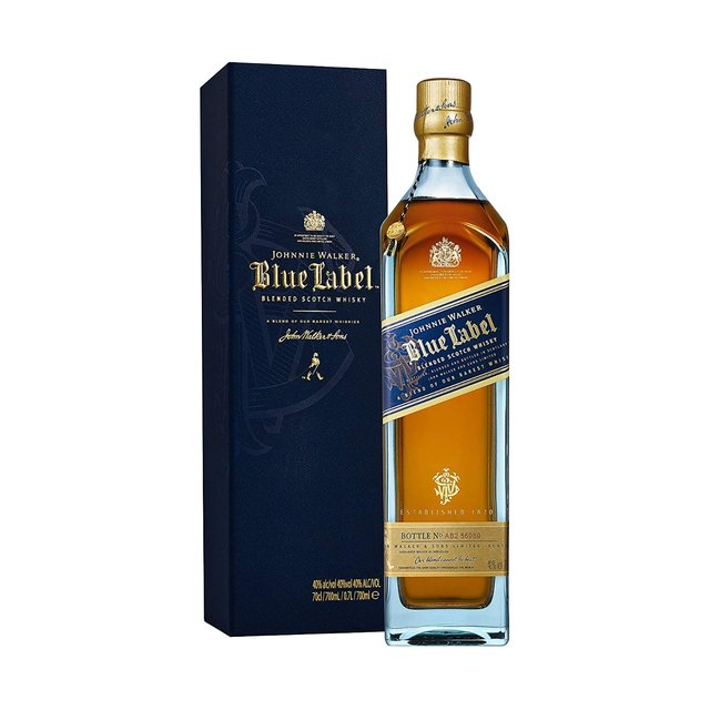 Estuche Johnnie Walker Blue Label 750ml
