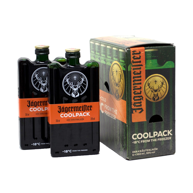 Six Pack Jagermeister Cool Pack 350ml