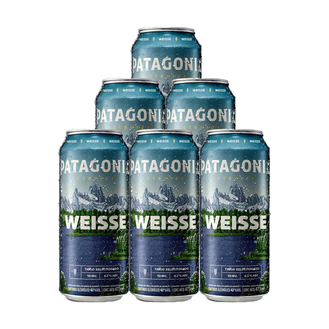 Six Pack Patagonia Weisse 473ml