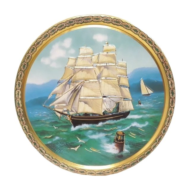 Galletas de Manteca Tall Ship Tin