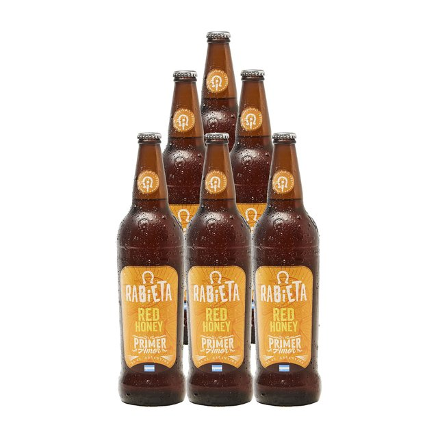Six Pack Red Honey Rabieta 710ml