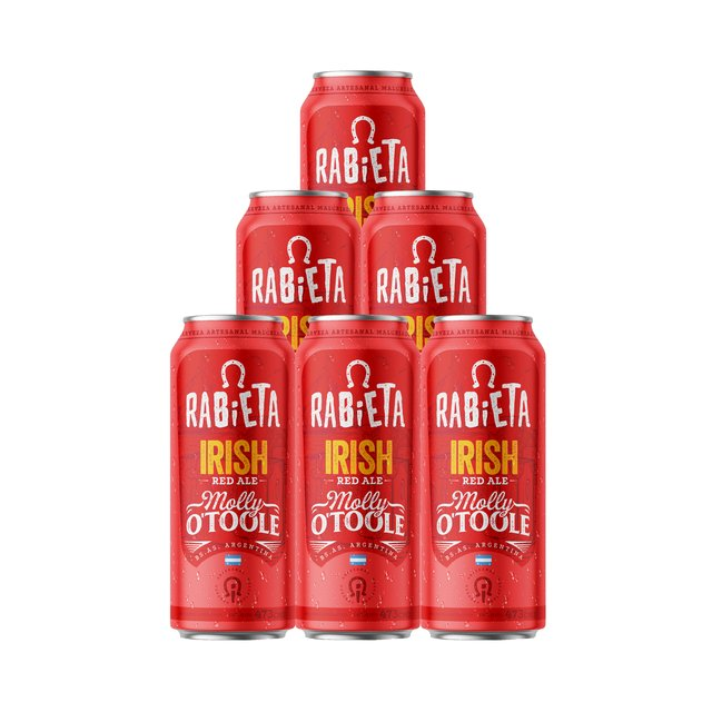 Six Pack Red Irish Rabieta 500ml