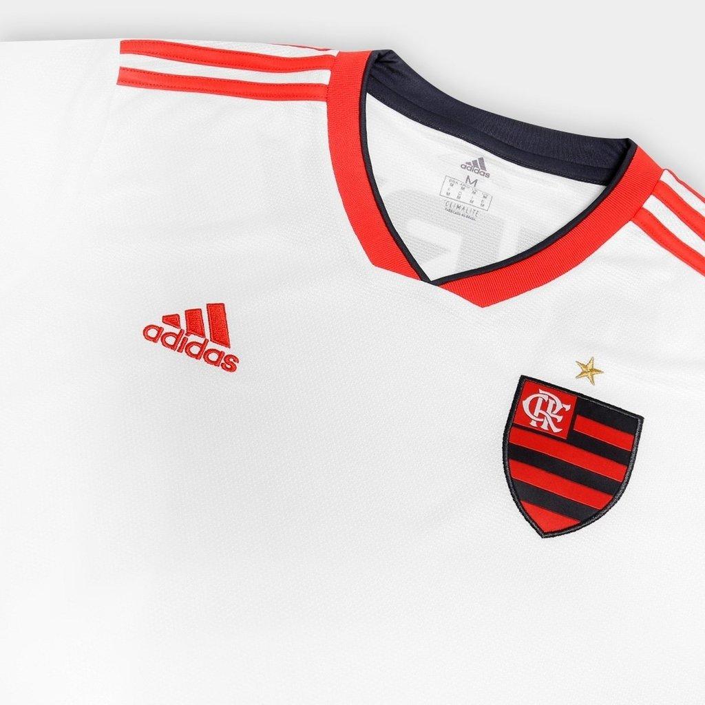 0a6698c680 Camisa Flamengo Masculina 2018/2019 Uniforme II Personalizável (FRETE GRÁTIS).  1