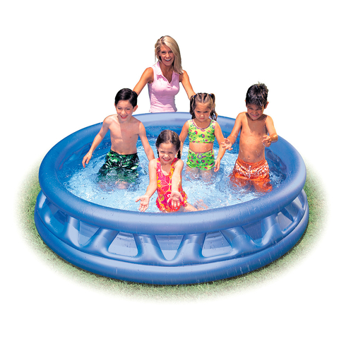 PILETA INFLABLE INTEX SOFT SIDE