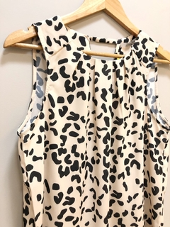 Blusa Sem Manga Animal Print - Unique Chic - comprar online