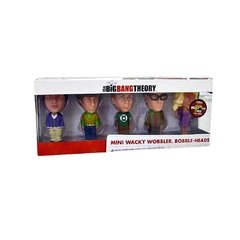 The Big Bang Theory: Kit com 5 mini Bobble Heads (edição limitada Comic Con 2012) - Funko - comprar online