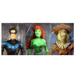Batman Hush: Nightwing, Poison Ivy e Scarecrow pack com 3 Figuras de Ação - DC Collectibles na internet