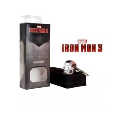 Iron Man 3: Chaveiro Homem de Ferro War Machine with Light Up (acende os olhos) - Iron Studios na internet