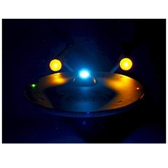 Imagem do Star Trek série Original: USS Enterprise NCC-1701 HD Nave com som e luz - Diamond Select Toys