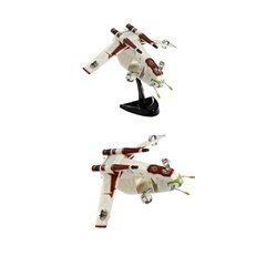 SW Clone Wars: Republic Gunship Nave Pocket Kit p/ Montar - Revell Pocket Easy Kit