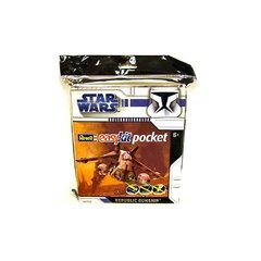 SW Clone Wars: Republic Gunship Nave Pocket Kit p/ Montar - Revell Pocket Easy Kit - comprar online