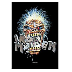 Rock: Iron Maiden Crunch Poster de Tecido