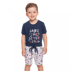 Conjunto Camiseta e Bermuda Ocean Baby Collection