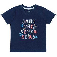 Conjunto Camiseta e Bermuda Ocean Baby Collection na internet