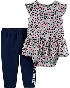 Conjunto Totally Purrfect Carters