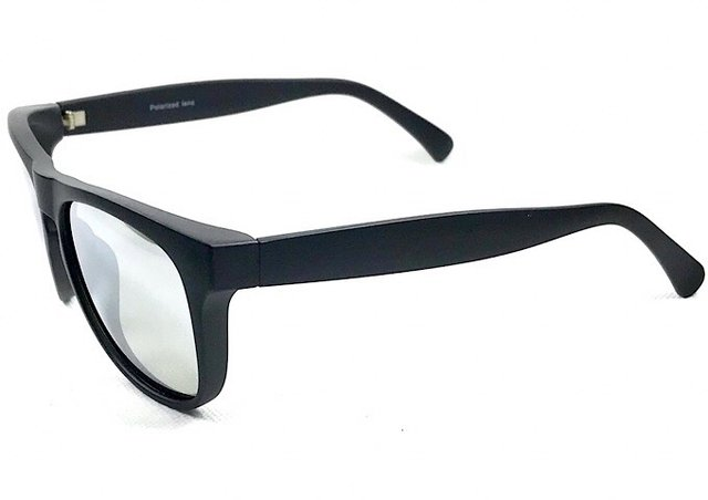 c9b4615e1a952 ... Óculos Masculino Preto Fosco Espelhado Flash - comprar online