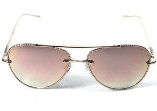 Óculos de Sol Adulto Feminino Espelhado Rosê a0216acbbe