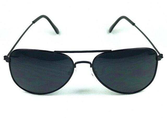 c05c5a6f8 Óculos de Sol Aviador Adulto Prata Lente Fumê