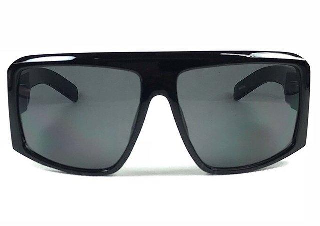 4cc773a207dd9 Óculos Masculino Preto Lente Fumê - Óculos Marinos